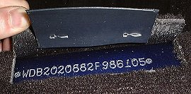 Mercedes c class vin vehicle identification chassis number for Mercedes benz engine number check