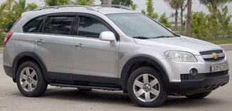 Chevrolet Captiva VIN Chassis Locations