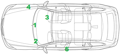 Volvo VIN & Chassis Number  Locations