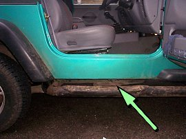 Jeep Wrangler Vin Vehicle Identification Chassis Number Locations