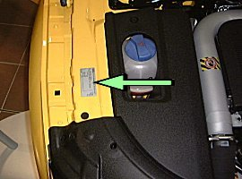 Audi Tt Vin Vehicle Identification Chassis Number Locations Vin